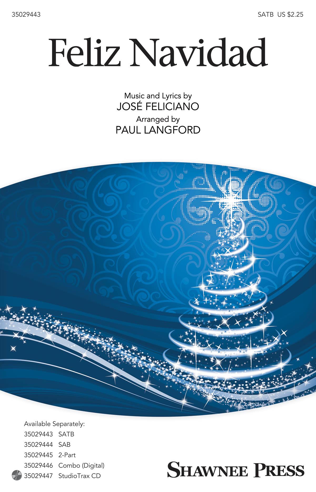 Feliz Navidad: SATB: Vocal Score