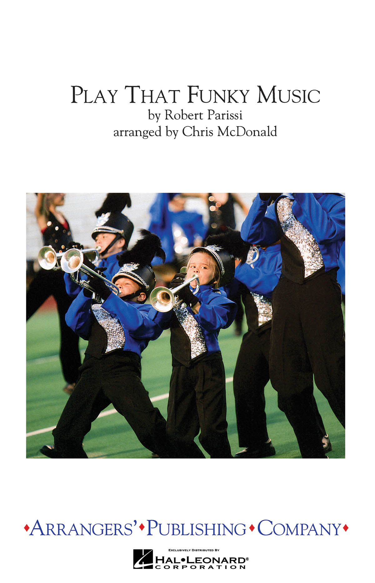 Play That Funky Music - Marching Band: Marching Band: Score