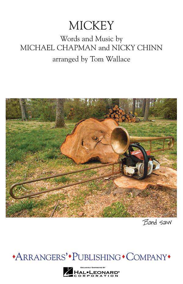 Toni Basil: Mickey: Marching Band: Score & Parts