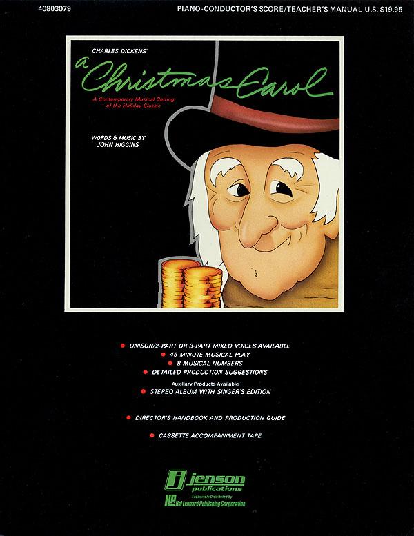 John Higgins: A Christmas Carol (A Holiday Musical Classic): Children's Choir