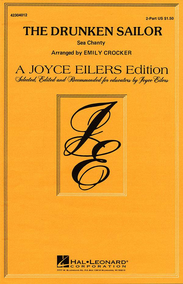 The Drunken Sailor: 2-Part Choir: Vocal Score