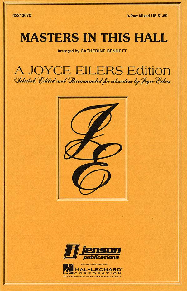 William Morris: Masters in This Hall: 3-Part Choir: Vocal Score