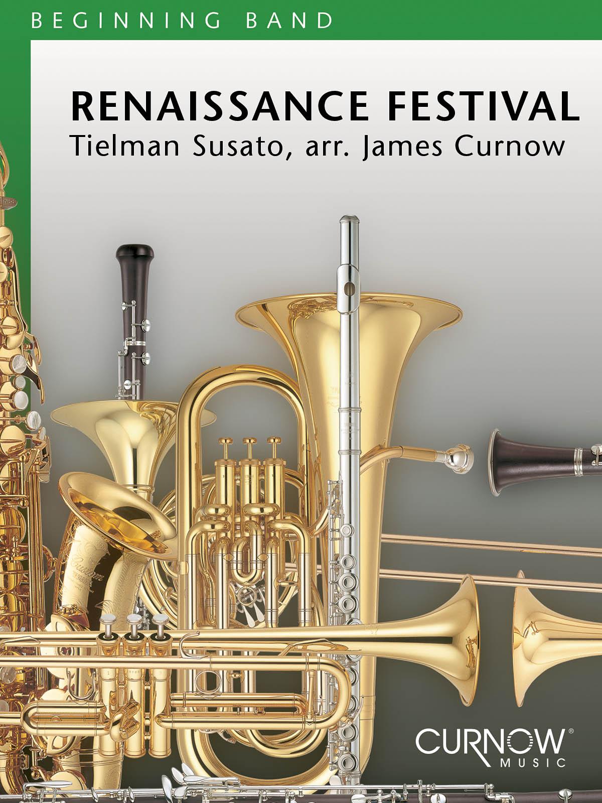 Tielman Susato: Renaissance Festival: Concert Band: Score & Parts