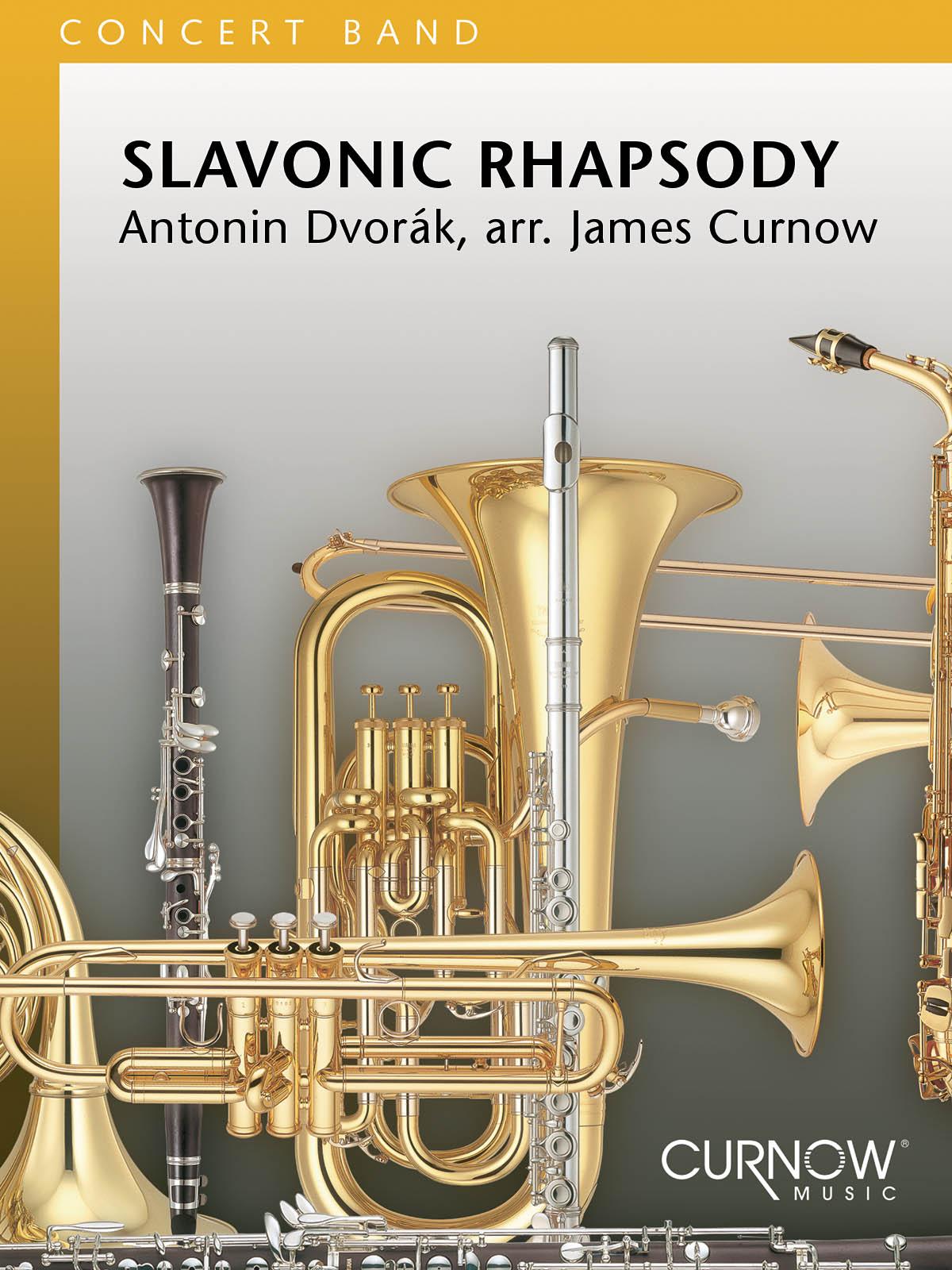 Antonín Dvo?ák: Slavonic Rhapsody: Concert Band: Score & Parts