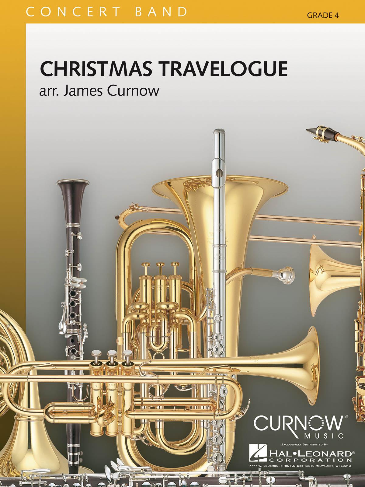 Christmas Travelogue: Concert Band: Score & Parts