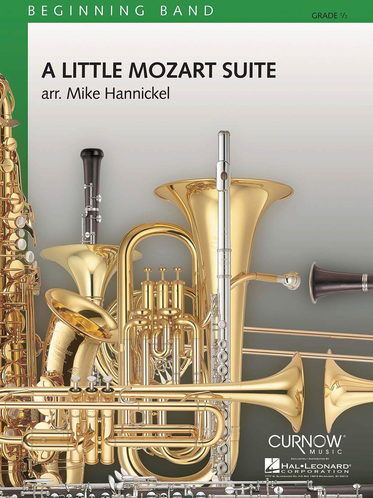 Wolfgang Amadeus Mozart: A Little Mozart Suite: Concert Band: Score