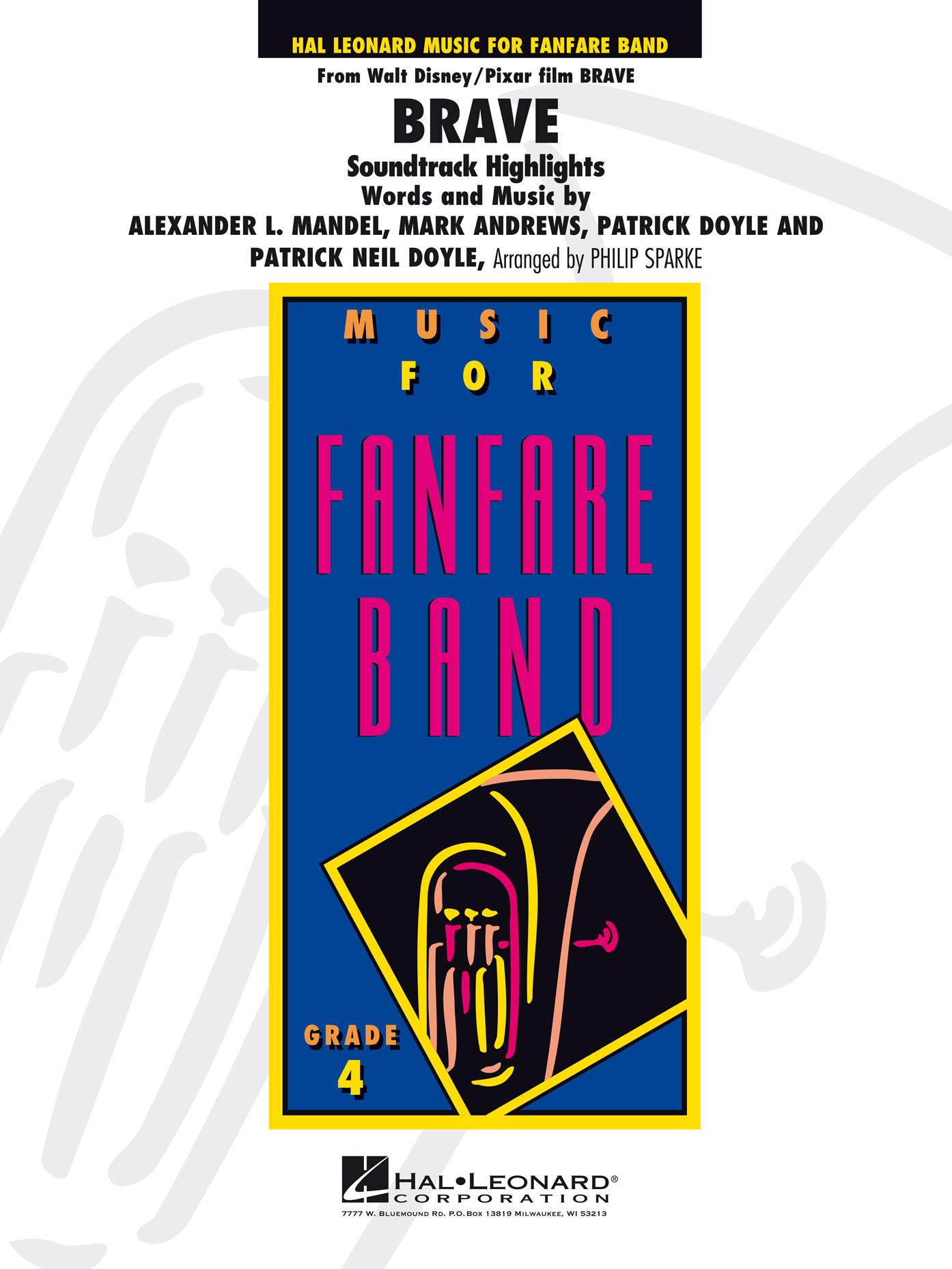 Patrick Doyle: Brave: Fanfare Band: Score & Parts