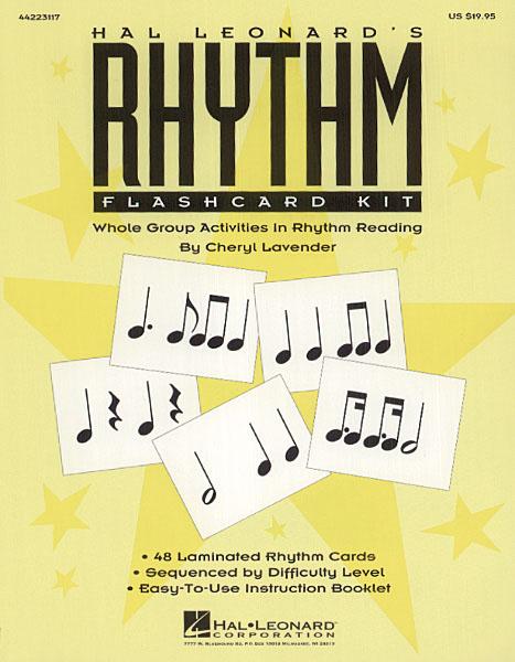 Cheryl Lavender: Hal Leonard's Rhythm Flashcard Kit: Game