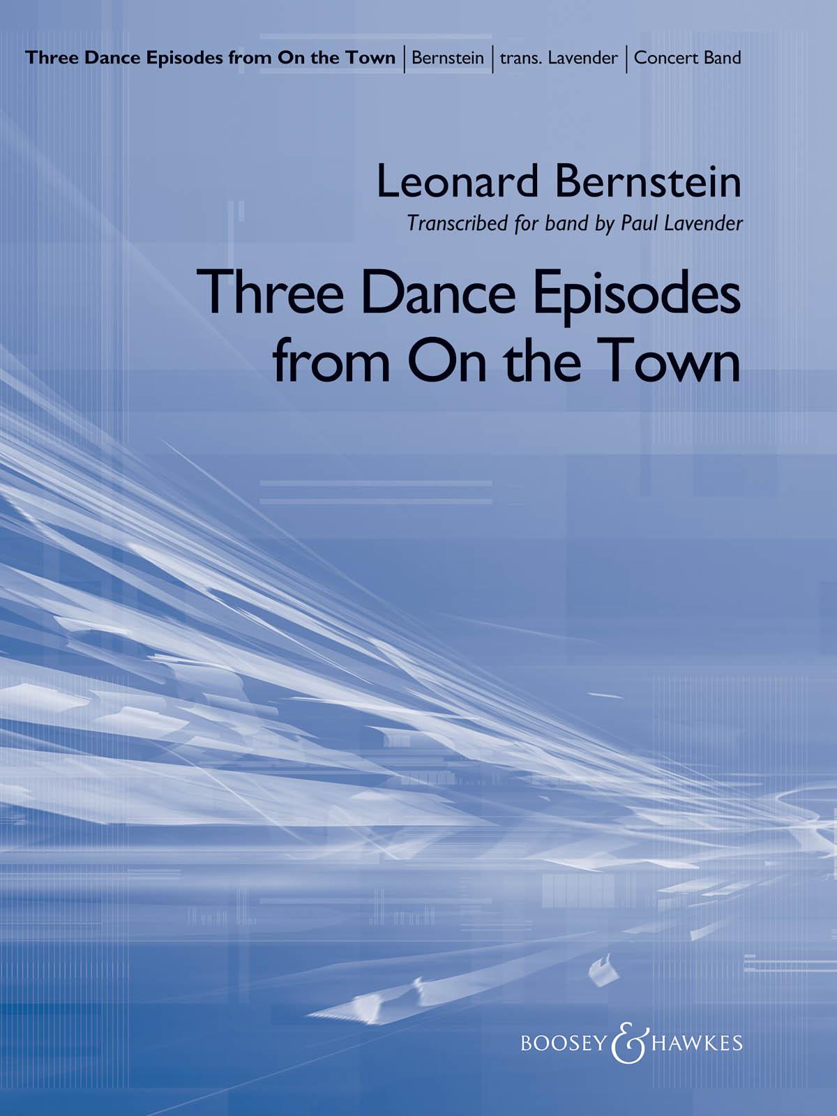 Leonard Bernstein: Three Dance Episodes (from On the Town): Concert Band: Score