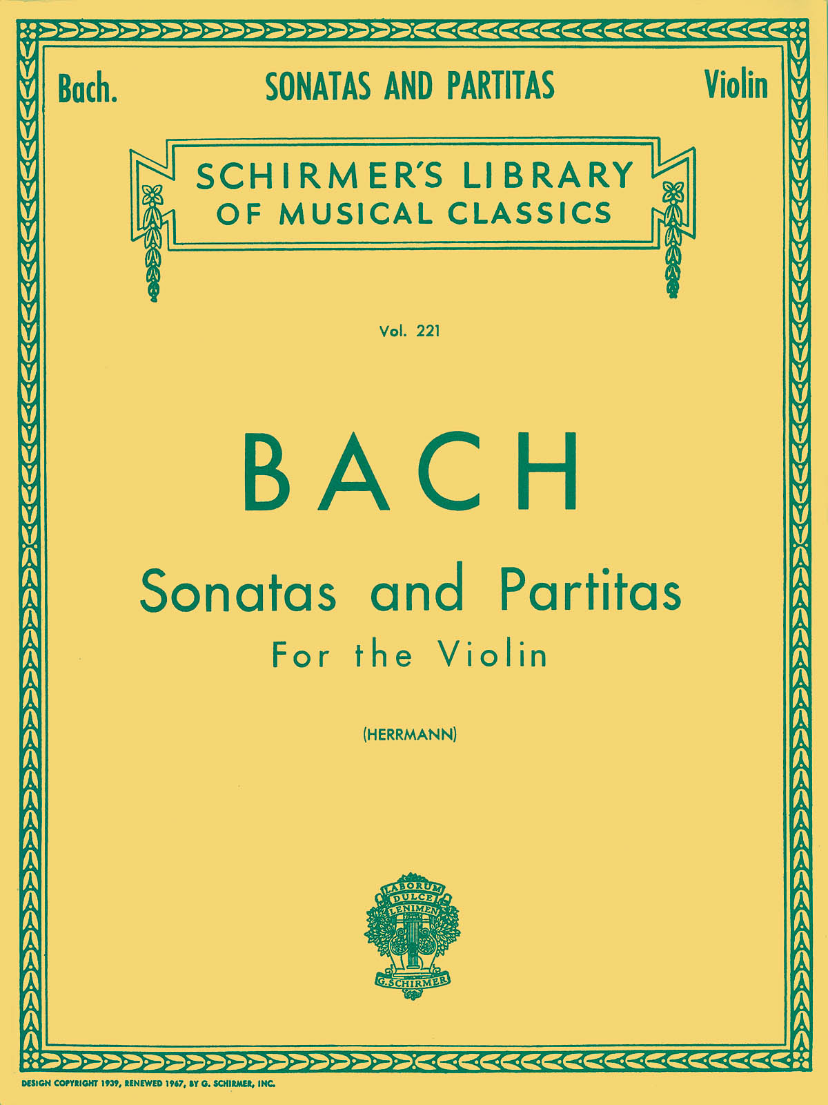 Johann Sebastian Bach: Sonatas And Partitas For The Violin: Violin: Instrumental