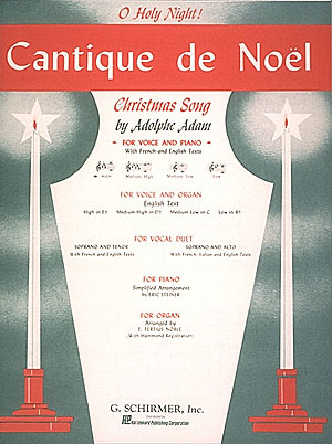 Adolphe Charles Adam: Cantique de No?l (O Holy Night): High Voice: Single Sheet
