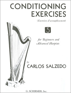 Carlos Salzedo: Conditioning Exercises for Harpists: Harp: Instrumental Tutor