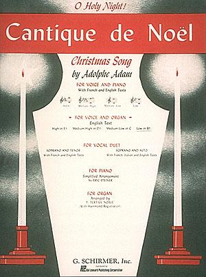 Adolphe Charles Adam: Cantique de No?l (O Holy Night): Low Voice: Single Sheet