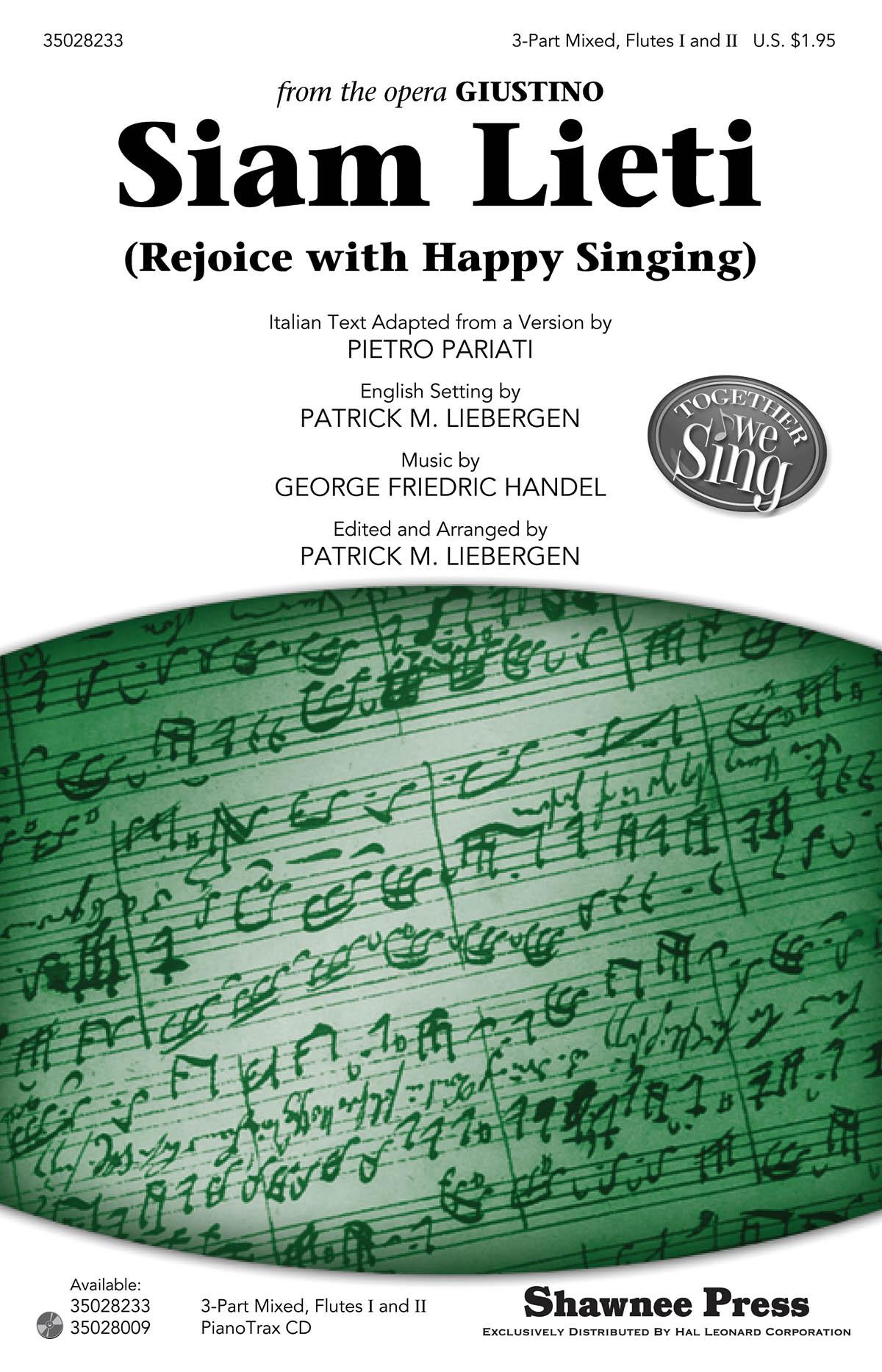 Giovanni Gabrieli: Jubilate Deo: SATB: Vocal Score