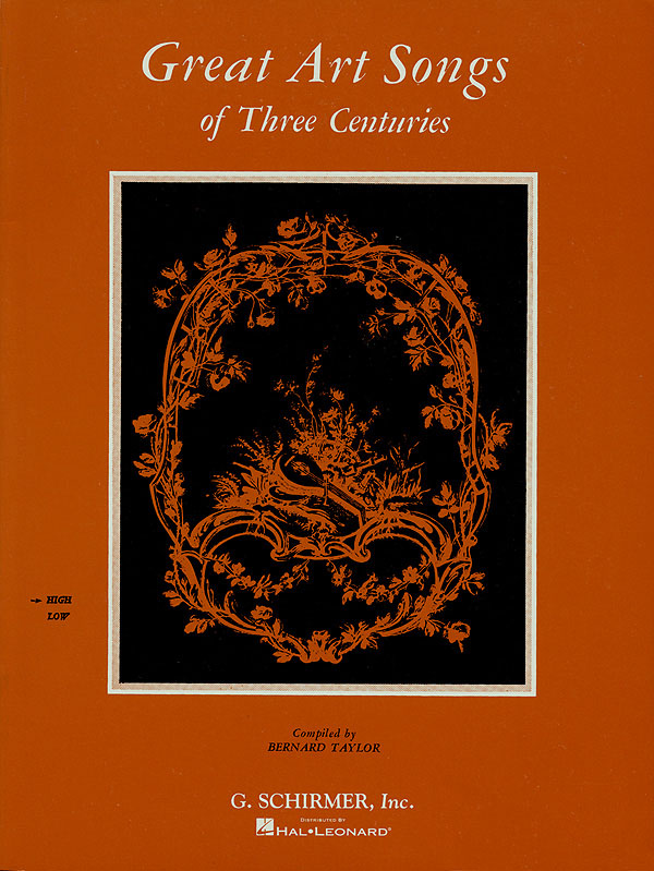 Great Art Songs of 3 Centuries: High Voice: Mixed Songbook