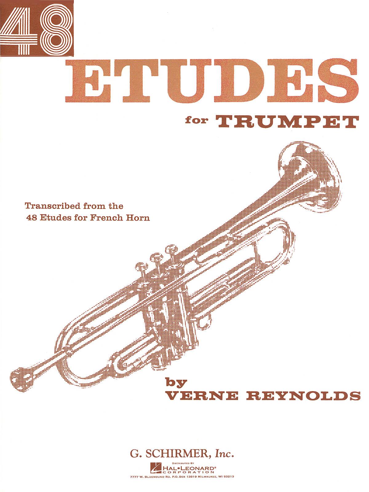 Verne Reynolds: 48 Etudes: Trumpet: Instrumental Tutor