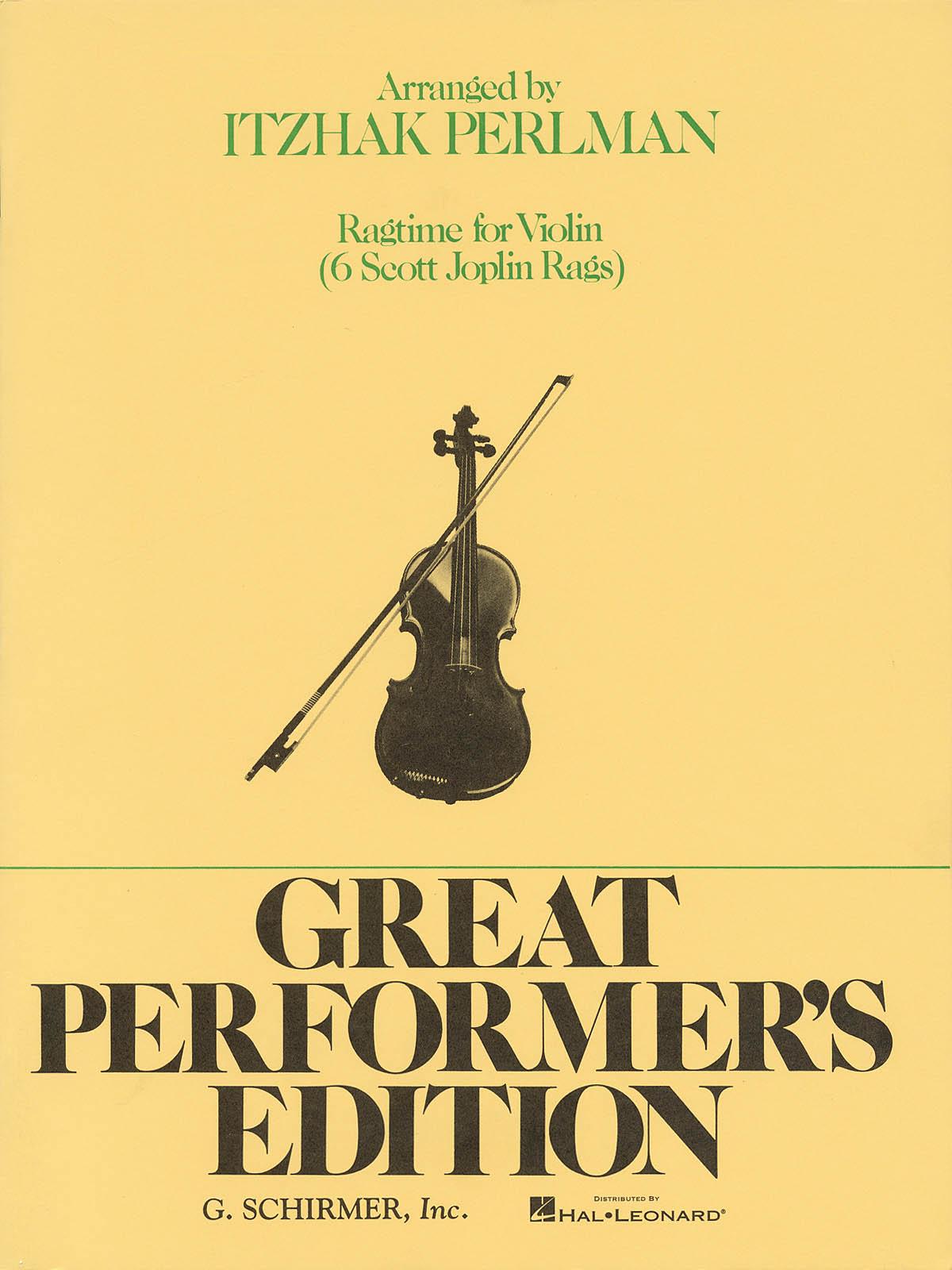 Scott Joplin: Ragtime: Rags by Joplin: Violin: Instrumental Album