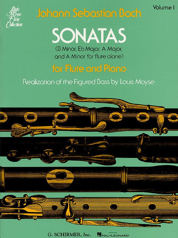 Johann Sebastian Bach: Sonatas For Flute And Piano Volume 1: Flute: Instrumental