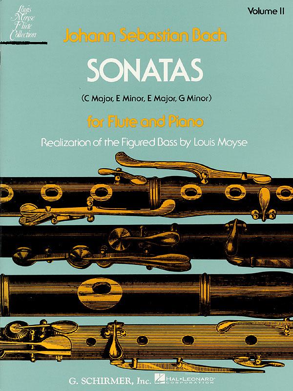 Johann Sebastian Bach: Sonatas For Flute And Piano Volume II: Flute: