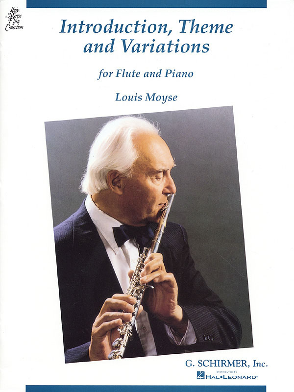 Louis Moyse: Introduction  Theme and Variations: Flute: Instrumental Work