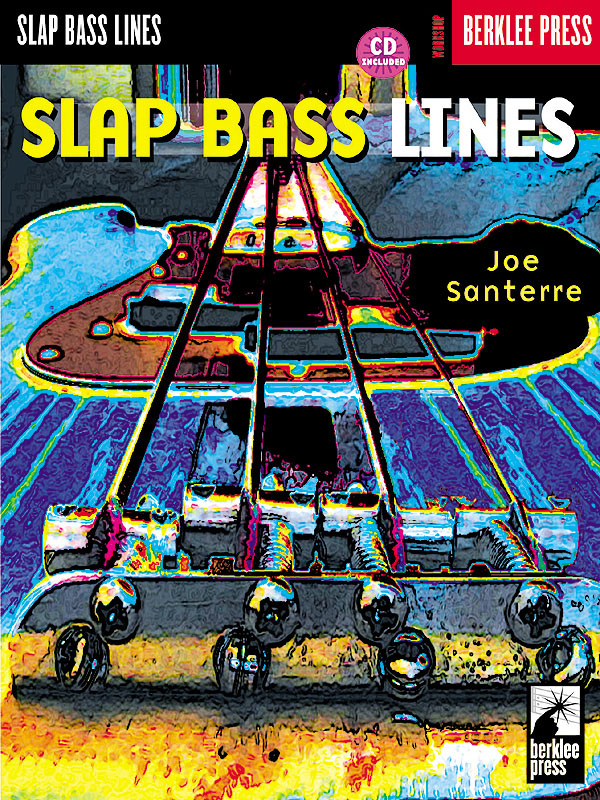 Slap Bass Lines: Bass Guitar Solo: Instrumental Tutor