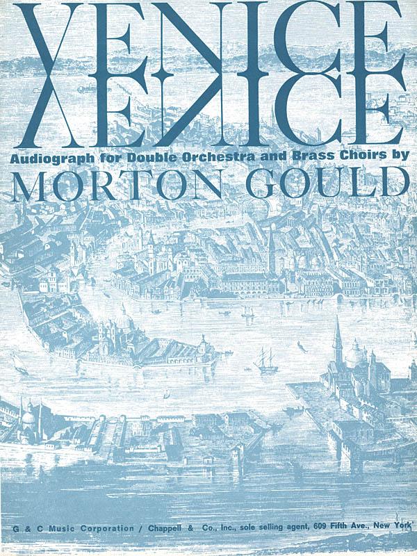 Morton Gould: Venice: Orchestra: Score