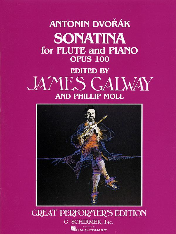 Antonín Dvo?ák: Sonatina  Op. 100: Flute: Instrumental Work