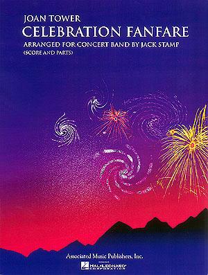 Joan Tower: Celebration Fanfare: Concert Band: Score