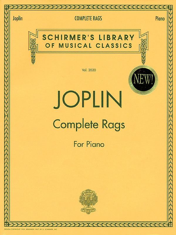 Scott Joplin: Complete Rags for Piano: Piano: Instrumental Album