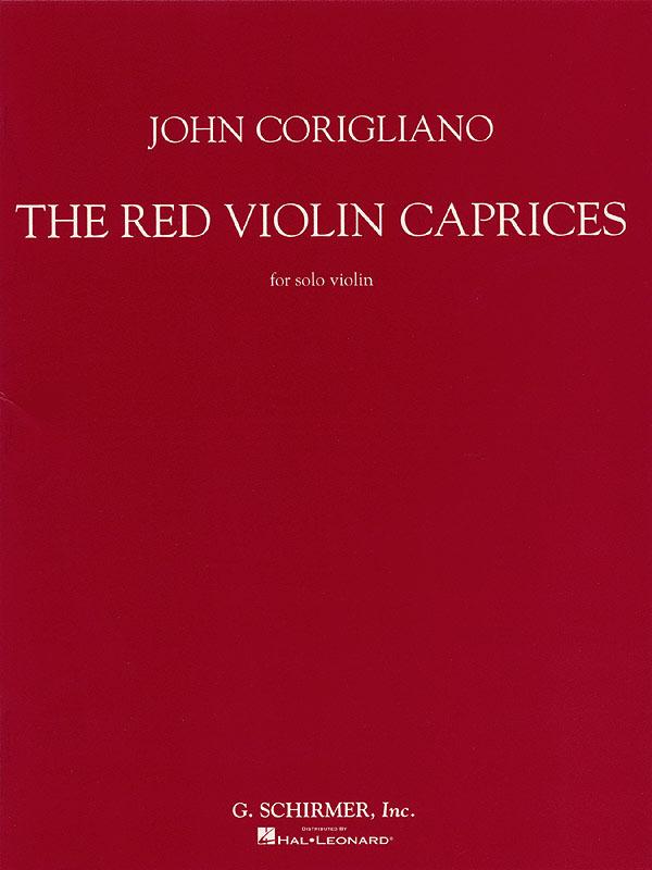 John Corigliano: The Red Violin Caprices For Solo Violin: Violin: Instrumental