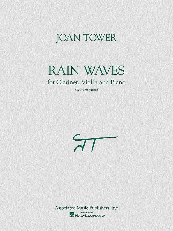 Joan Tower: Rain Waves: Chamber Ensemble: Score and Parts