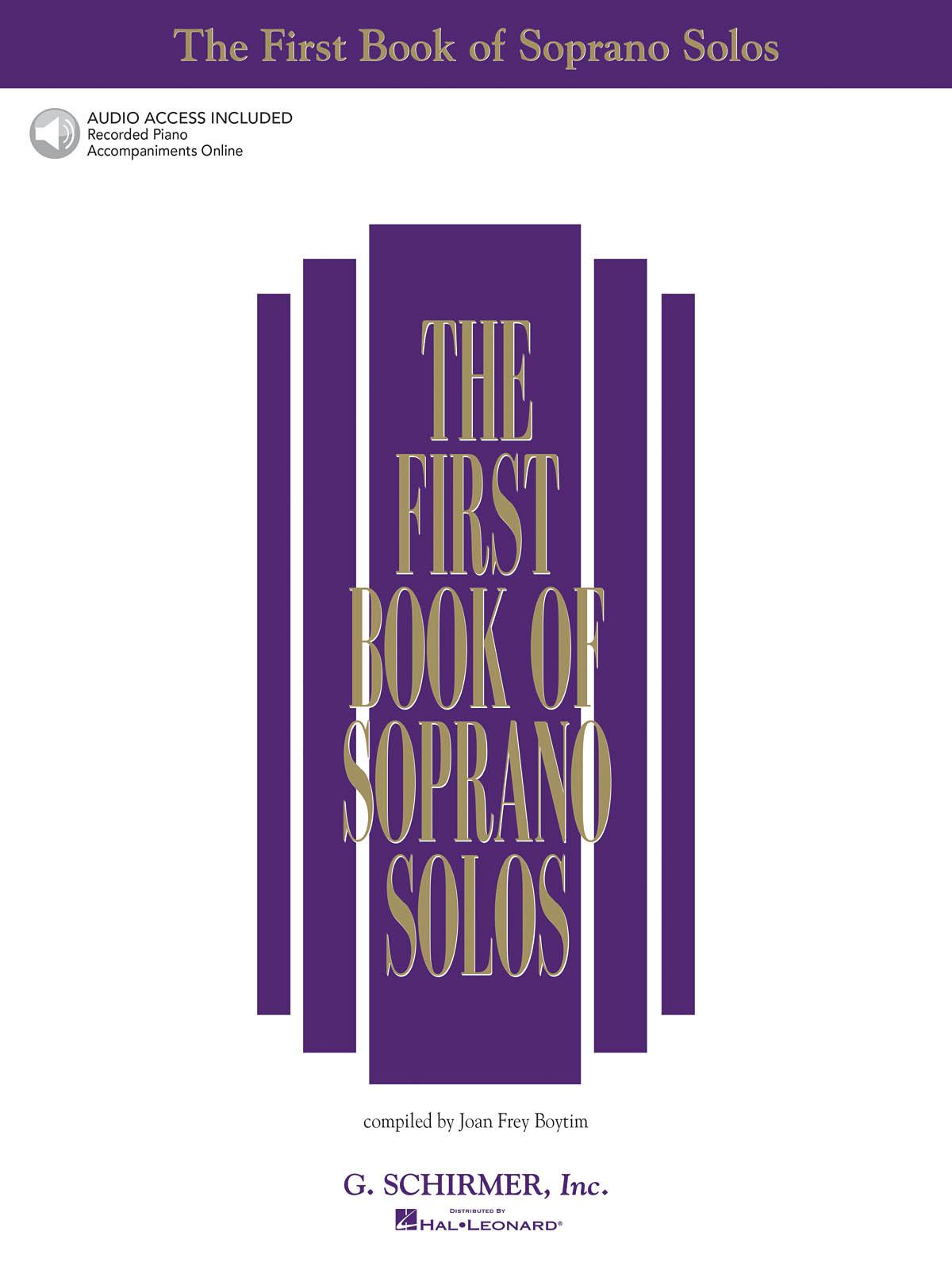 The First Book of Soprano Solos: Soprano: Vocal Album