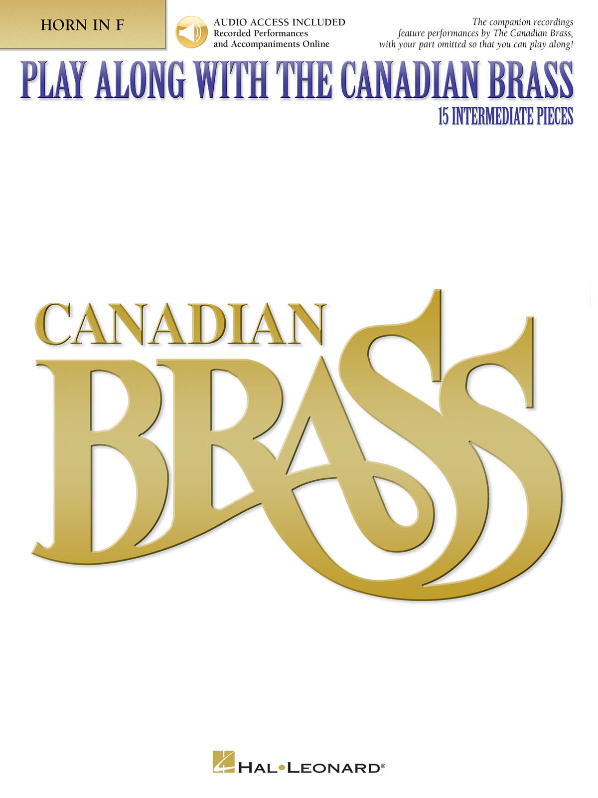 The Canadian Brass: Play Along with the Canadian Brass - Interm. Level: French