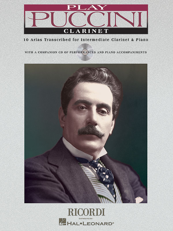 Giacomo Puccini: Play Puccini - Clarinet: Clarinet and Accomp.: Instrumental