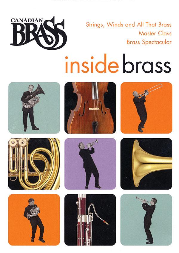The Canadian Brass: Canadian Brass Inside Brass DVD: Brass Ensemble: DVD