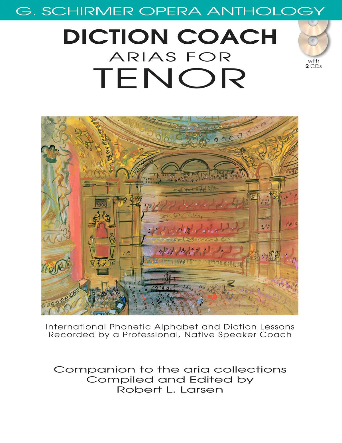 Diction Coach - G. Schirmer Opera Anthology: Tenor: Vocal Album