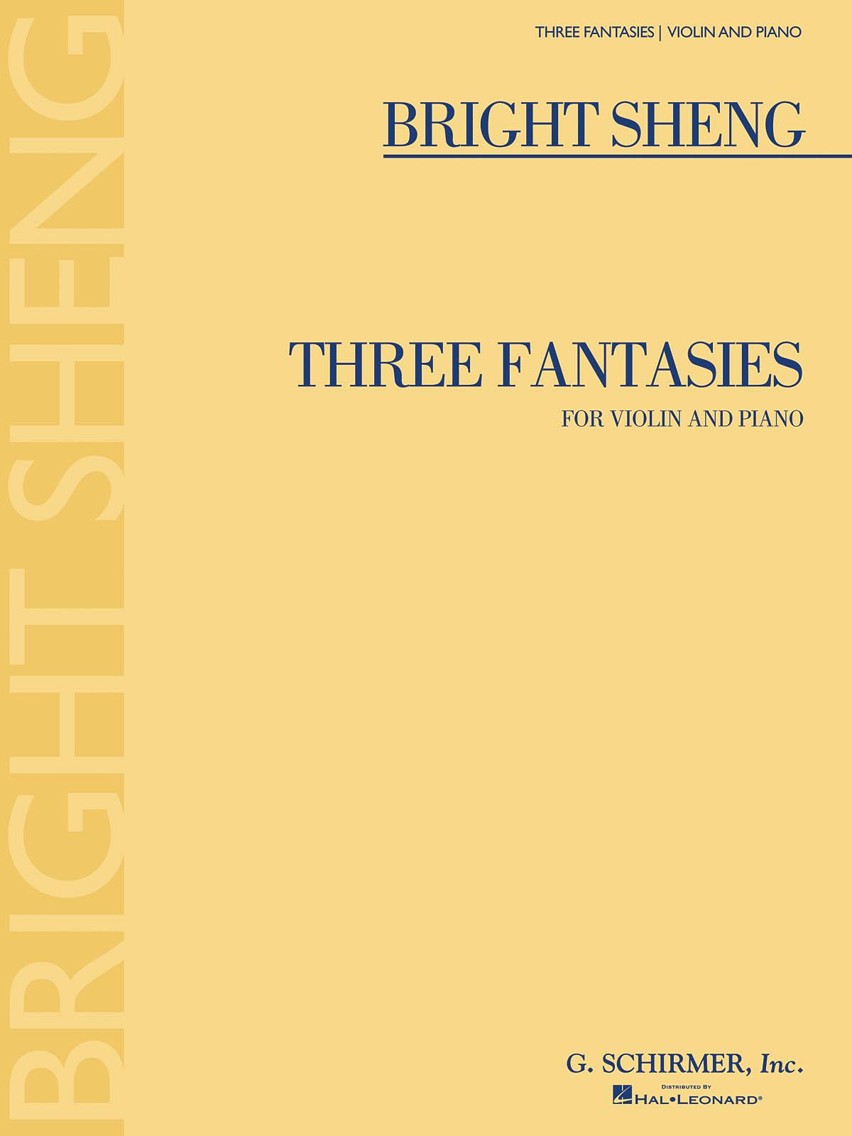 Bright Sheng: Three Fantasies: Violin: Instrumental Work