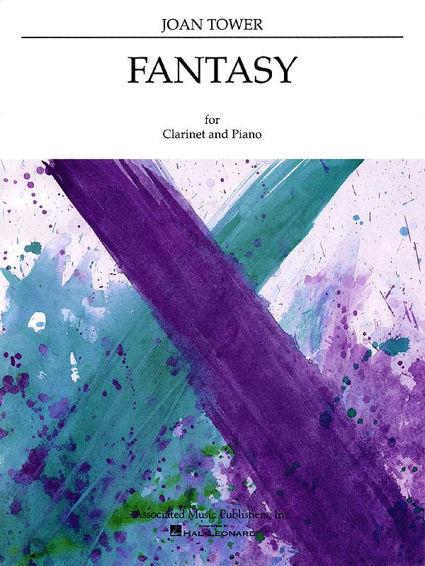 Joan Tower: Fantasy: Clarinet and Accomp.: Instrumental Work