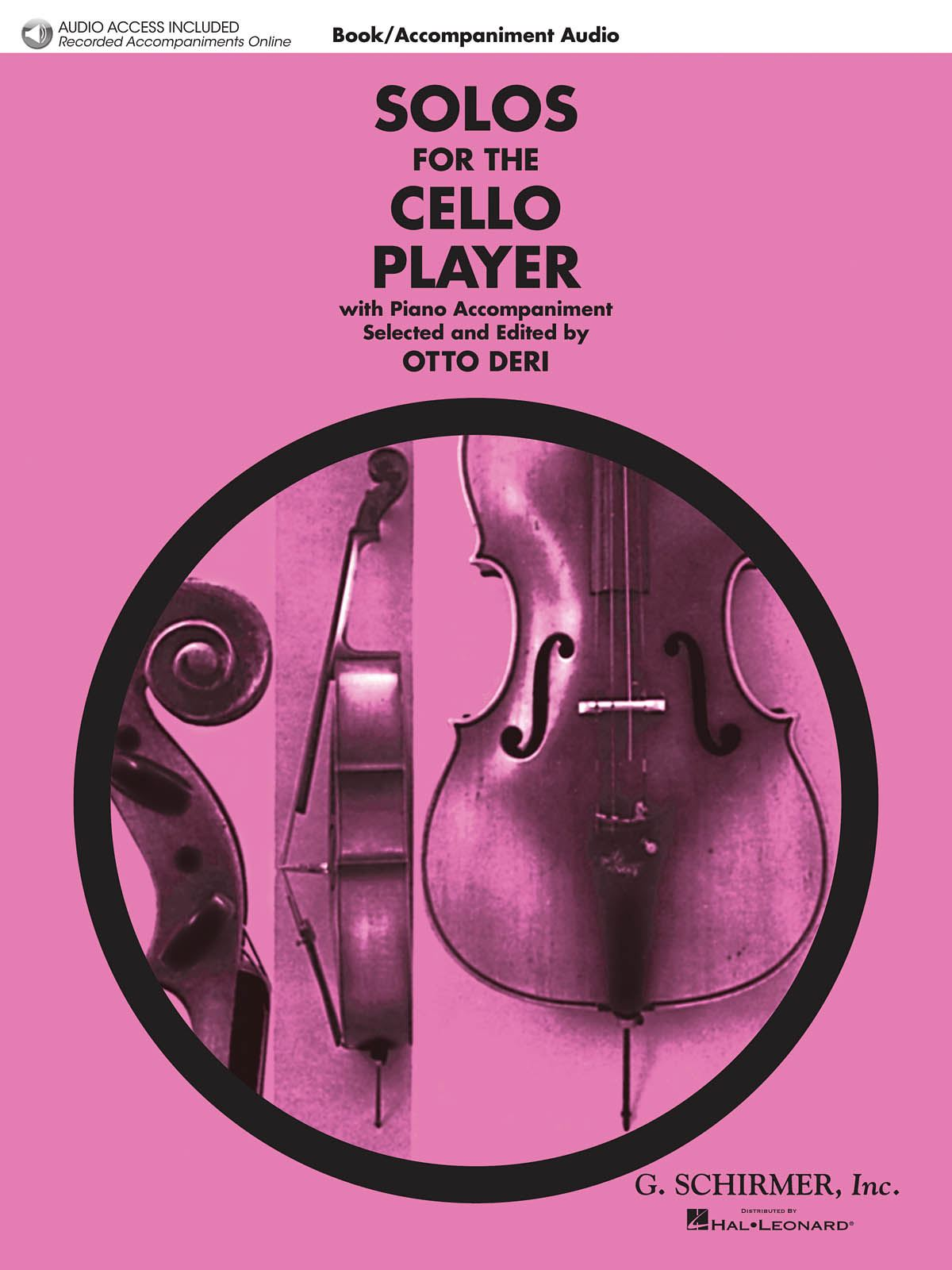 Solos For The Cello Player: Cello and Accomp.: Instrumental Album