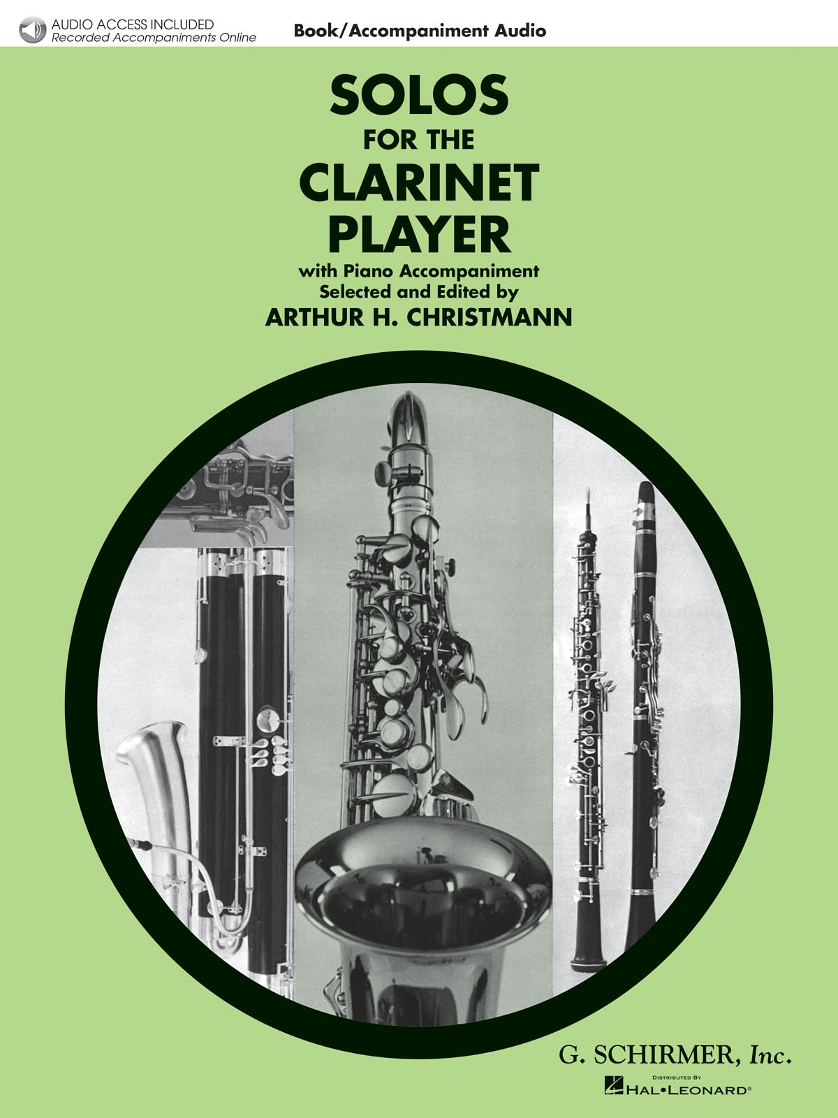 Solos For The Clarinet Player: Clarinet and Accomp.: Instrumental Album