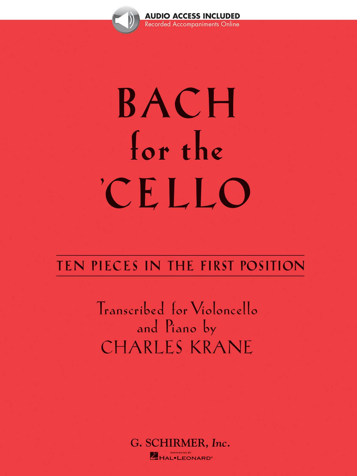 Johann Sebastian Bach: Bach For The Cello - 10 Easy Pieces: Cello Solo: