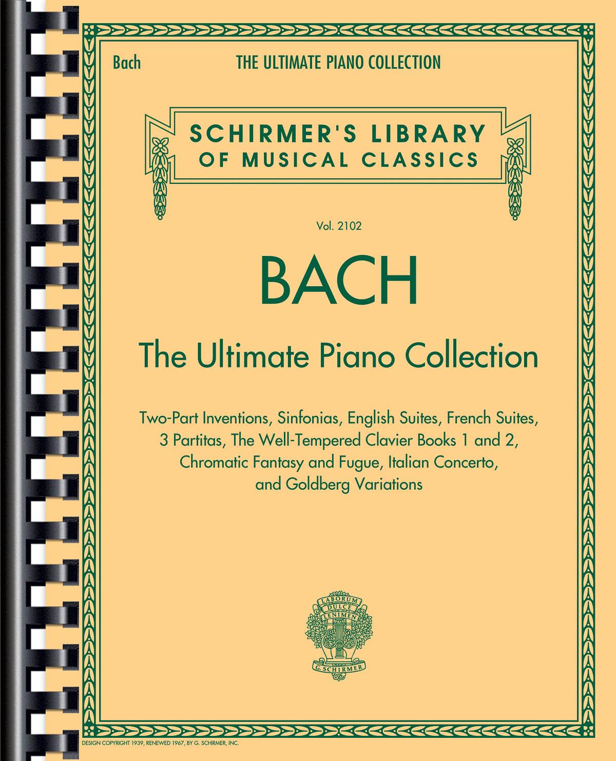 Johann Sebastian Bach: Bach: The Ultimate Piano Collection: Piano: Instrumental