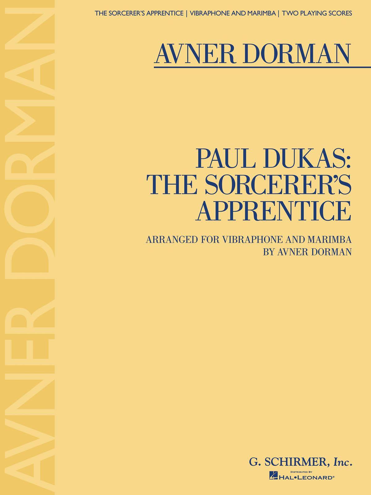 Paul Dukas: Paul Dukas: The Sorcerer's Apprentice: Percussion: Score