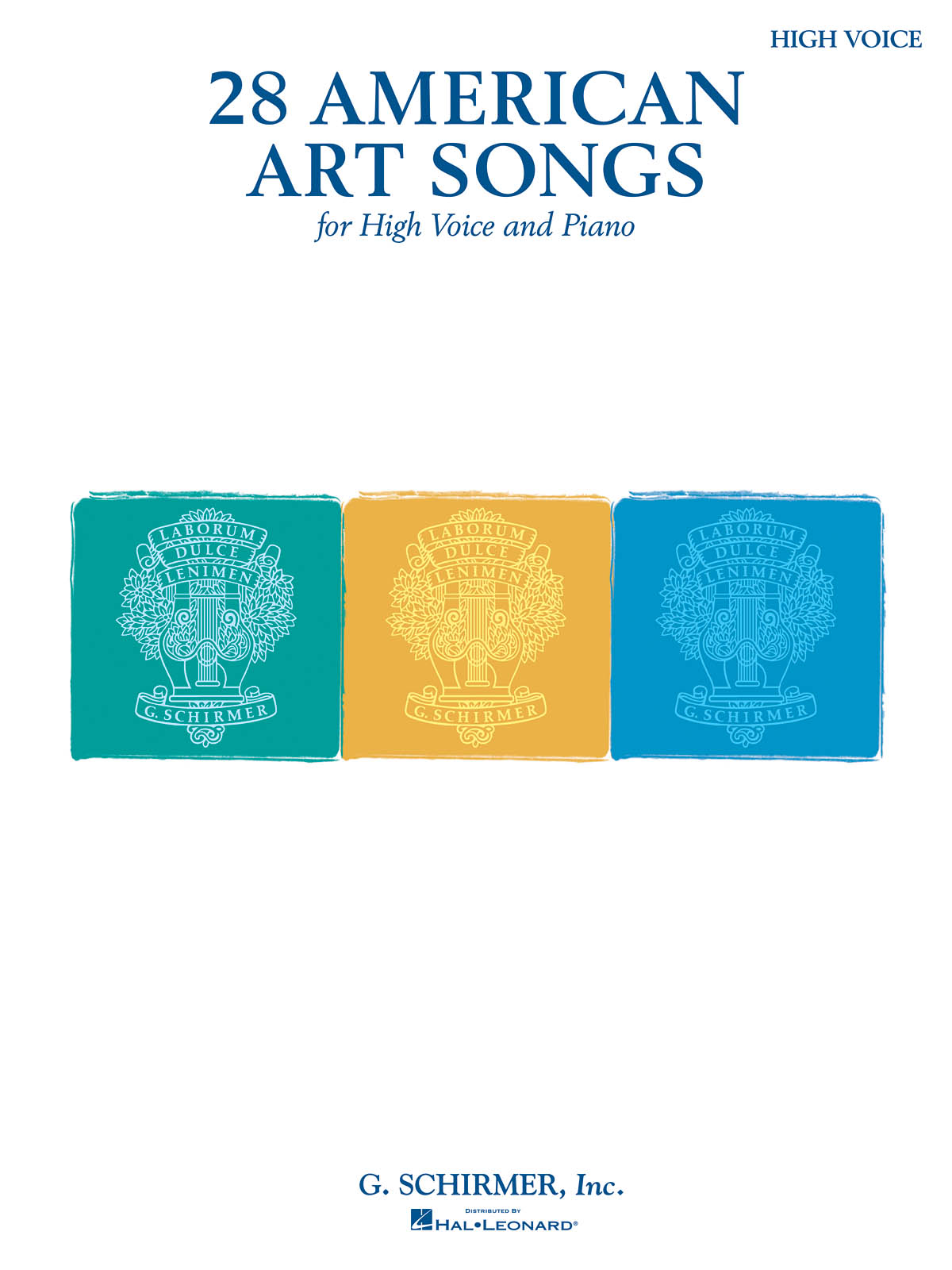 28 American Art Songs: High Voice: Mixed Songbook