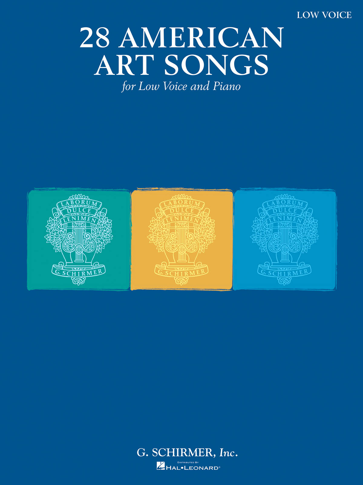 28 American Art Songs: Low Voice: Mixed Songbook