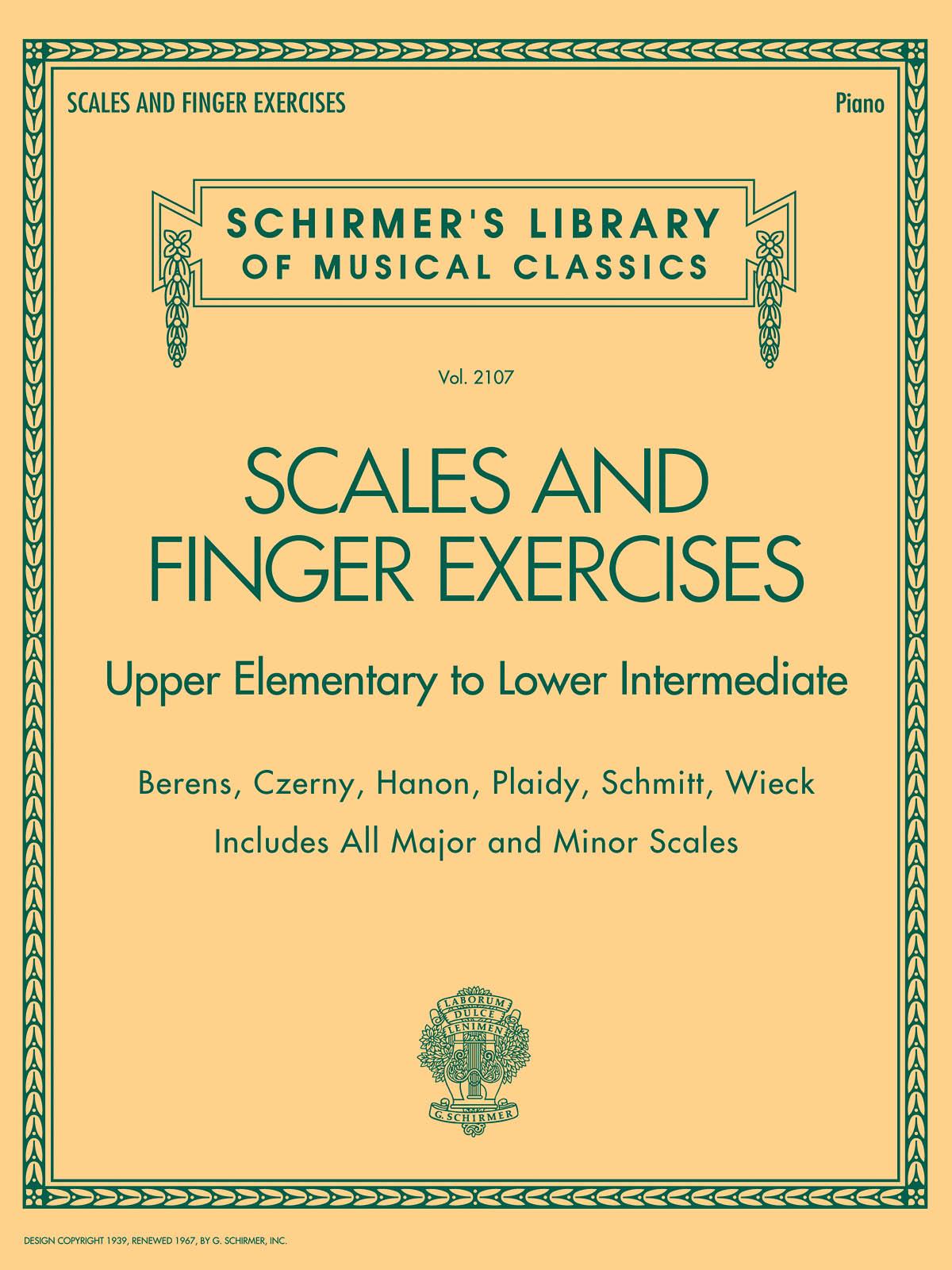 Scales and Finger Exercises: Piano: Instrumental Album