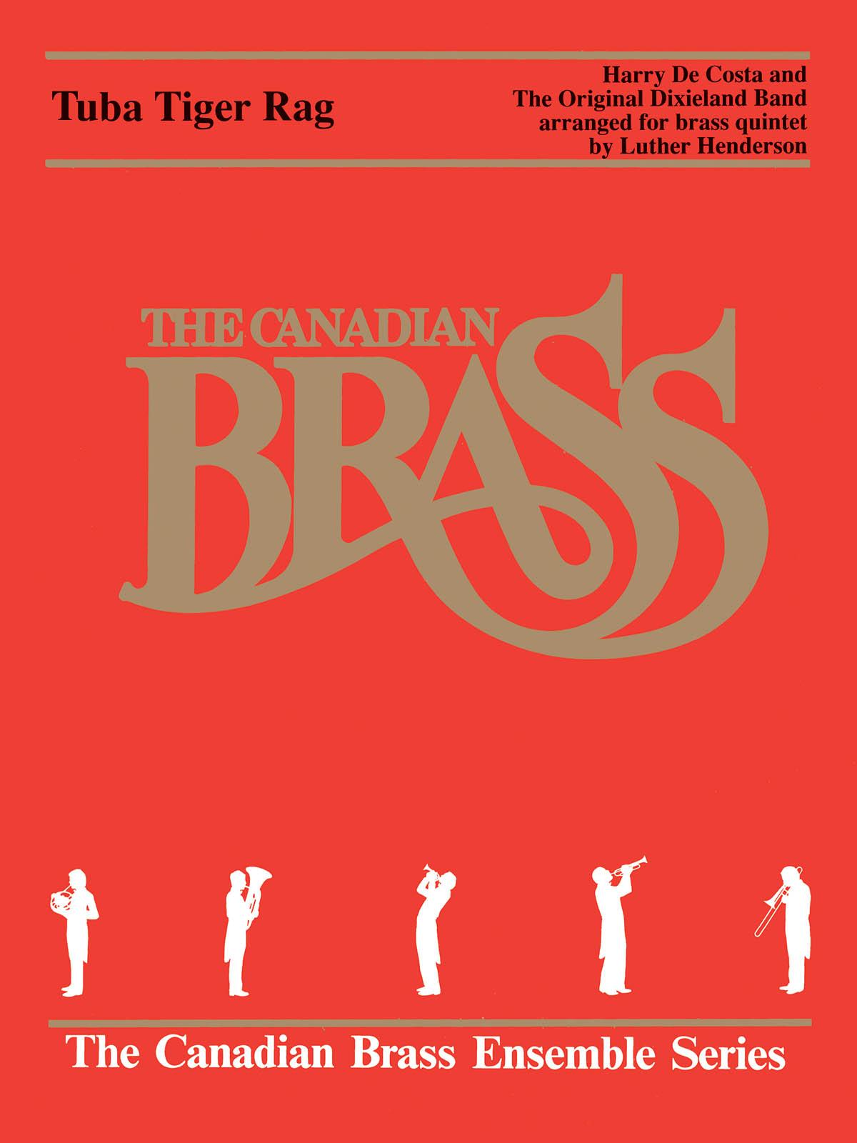 Luther Henderson: Tuba Tiger Rag: Brass Ensemble: Score & Parts
