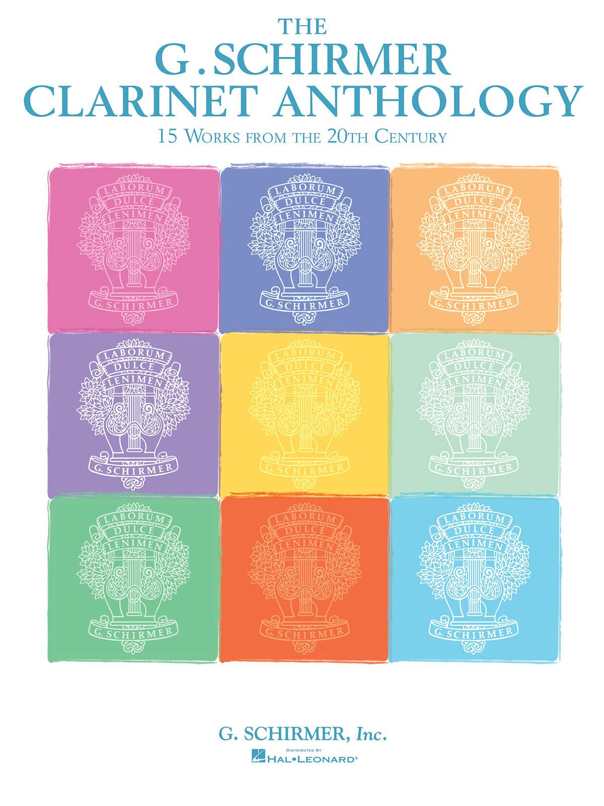 G. Schirmer Clarinet Anthology: Clarinet Solo: Instrumental Album
