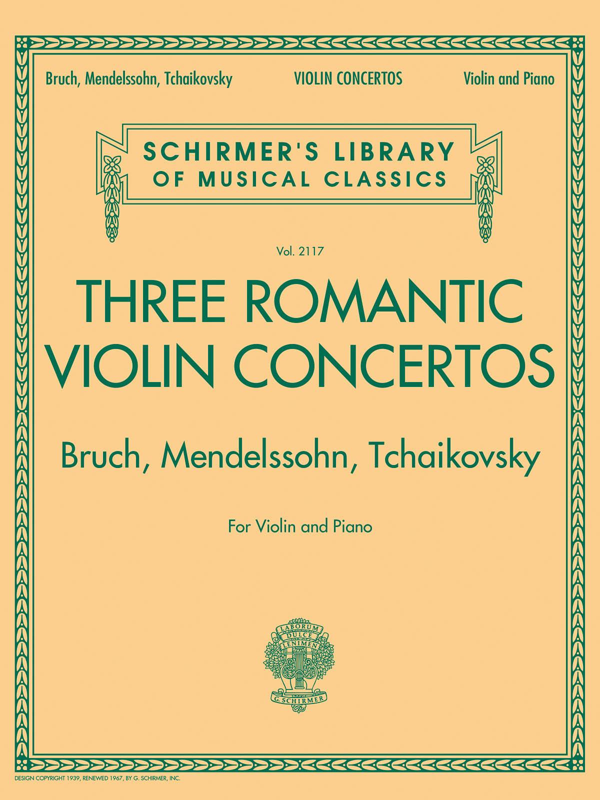 Max Bruch Felix Mendelssohn Bartholdy Pyotr Ilyich Tchaikovsky: Three Romantic