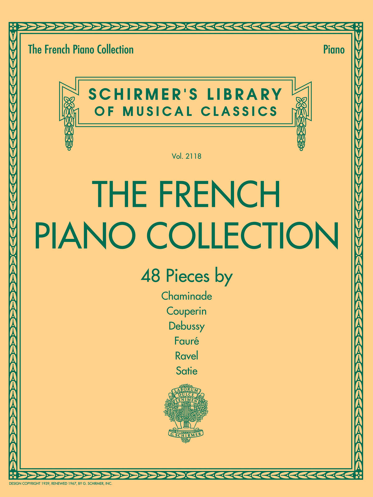 The French Piano Collection: Piano: Instrumental Album